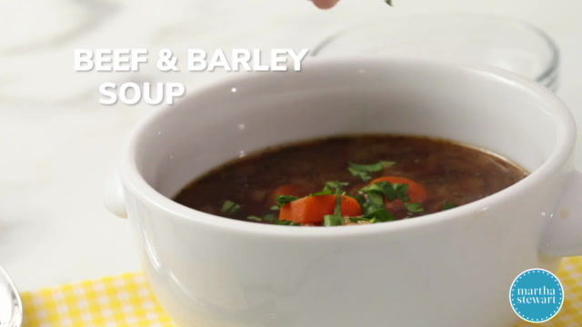 Beef Barley Soup Video