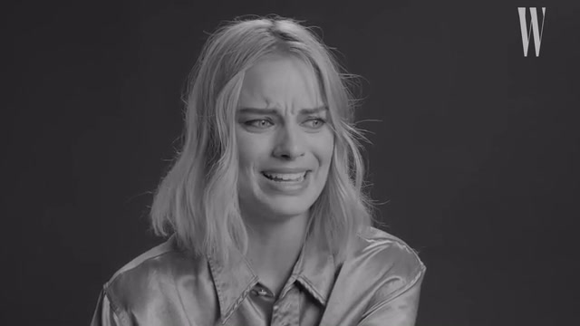 Margot Robbie Dressed Up as James Franco in