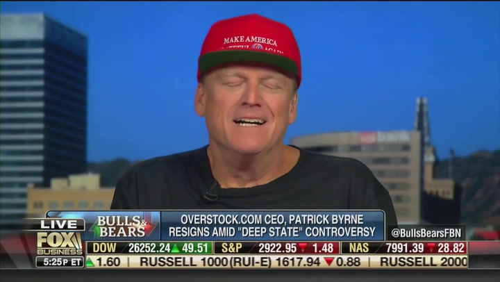 Overstock Ex-CEO Patrick Byrne Goes on Bonkers Rant to Fox Business: I'm Part of a 'Deep State' Conspiracy