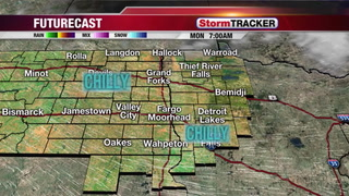 StormTRACKER Webcast - Sunny & Breezy for Monday