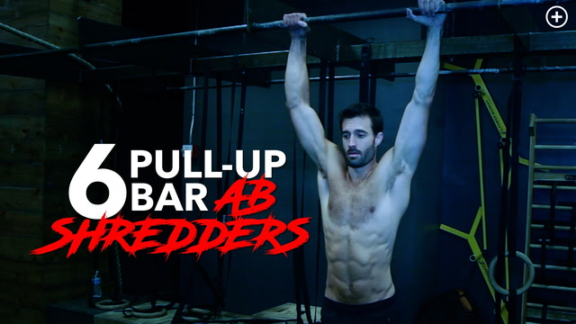 Pull-Up Bar Ab Variations