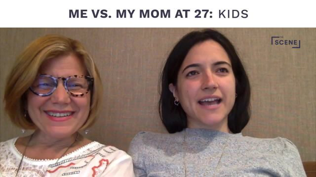 Me vs. My Mom at 27