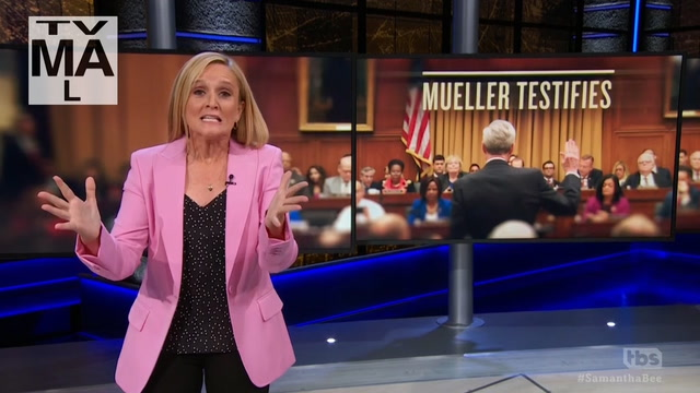 Late-night hosts poke fun at two-part Mueller testimony