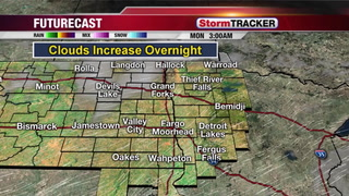 Quiet Sunday Evening Weather