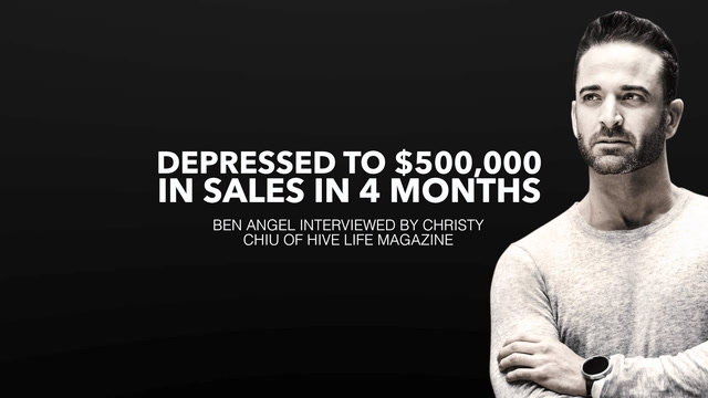 How This Entrepreneur Went From Depressed to $500,000 in Sales