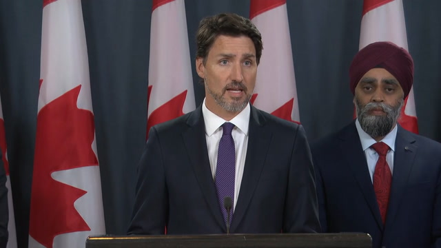 Trudeau: Evidence suggests 'Iranian surface to air missile' caused plane crash