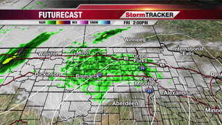 A Few T-storms Possible Later