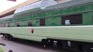 North Shore Scenic Railroad welcomes glass dome car