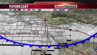 Tracking Areas of Drizzle Saturday Night into Sunday