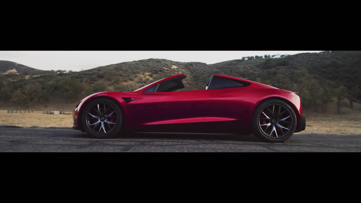 Tesla Next-Gen Roadster Spotted at Gigafactory, and It Looks Amazing
