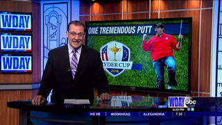 Mayville man makes memorable putt at Ryder Cup