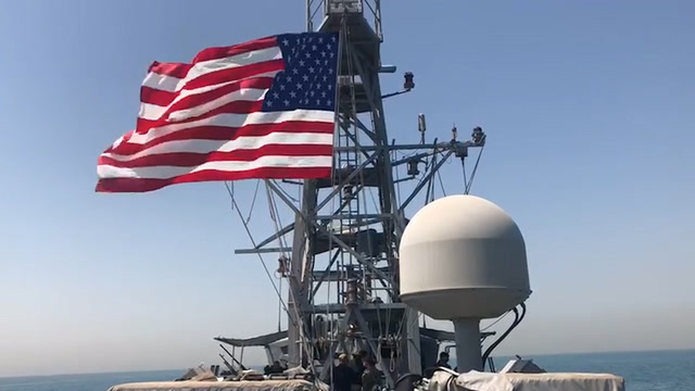 Look inside a U.S. ship patrolling the strategic Persian Gulf