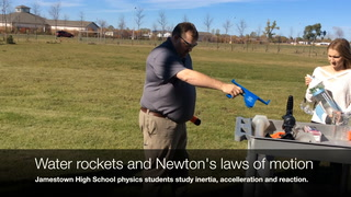 JHS physics and rockets