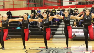Worthington Trojettes dance team performs on 2/8/17