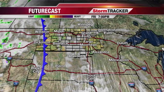 StormTRACKER Forecast Friday Night