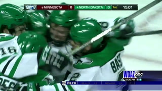 UND tops Gophers 4-0 on Saturday