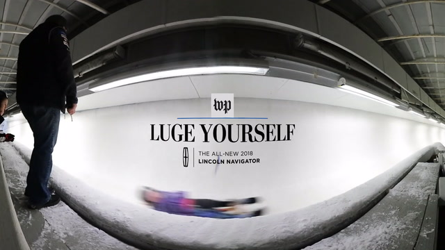 Luge Yourself: A first-person view down an Olympic track