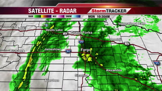 StormTRACKER Weather: Warm with Rain