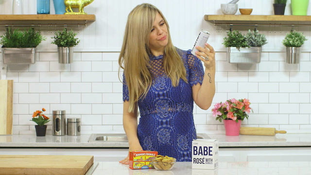 Megan the Wine Mom Rosé Review and IRL Food Pairings
