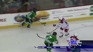 UND rallies to tie Miami, but only grabs one point in key series