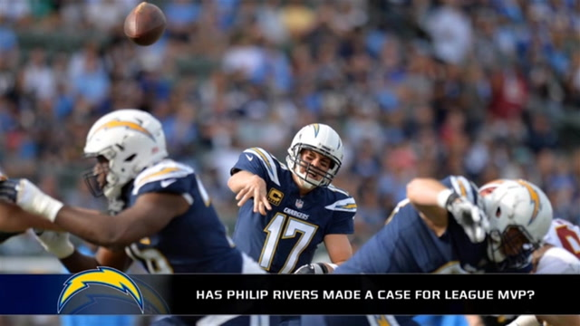Is Philip Rivers making a case for NFL MVP?