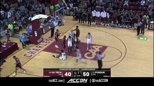 Virginia Tech vs. Purdue Basketball Highlights (2018-19)