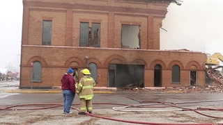 Ellsworth City Hall fire -- Jan. 16, 2019