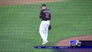 Carter homers, but RedHawks fall to Goldeyes in extra innings