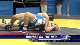 Rumble On The Red: Franek, Perham duo advance to semifinals