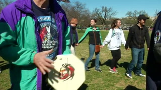 Women's Day celebrated at Tipi Camp in U.S. capital
