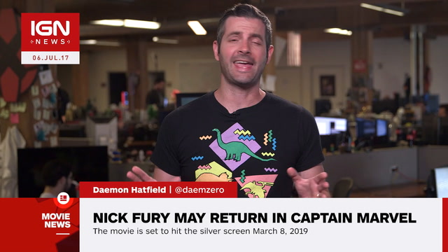 Captain Marvel Will Reportedly See The Return Of Nick Fury - IGN News