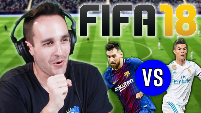 We Settle The Barcelona Vs. Real Madrid Rivalry • FIFA 18