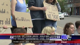 Grand Forks students raising awareness for the homeless