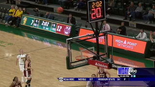 Jacobson, Bison women roll past UMass
