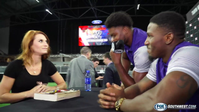 Kaime learning more than the game at Big 12 Media Days