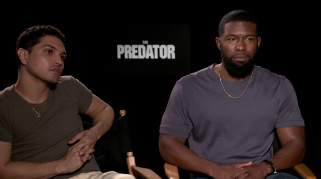 'Predator' cast reacts to cut scene news