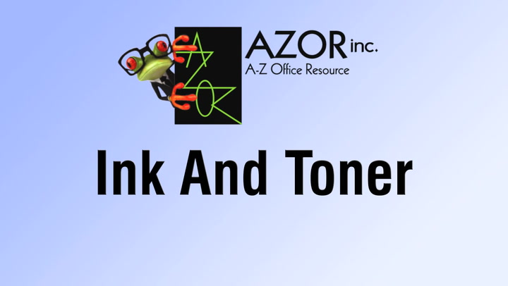 Ink and Toner at shop.AZORinc.com
