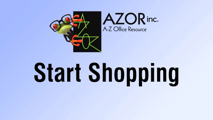 Start Shopping Online at shop.AZORinc.com | A-Z Office Resource