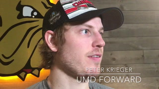 UMD Denver Saturday postgame