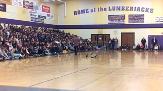 Dad speaks to CHS students about distracted driving