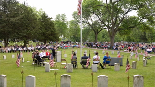 Crowd shows up at Fairview to honor veterans