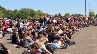 Dickinson first responders hold mock accident for DHS students.mp4