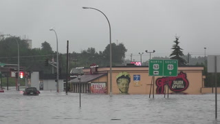 2012 flooding in central Duluth
