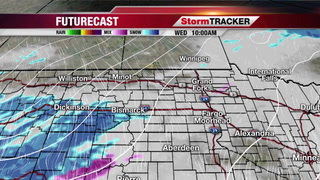 Snow & Wind Later Today