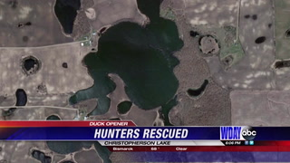 Woman saves party of five hunters in MN
