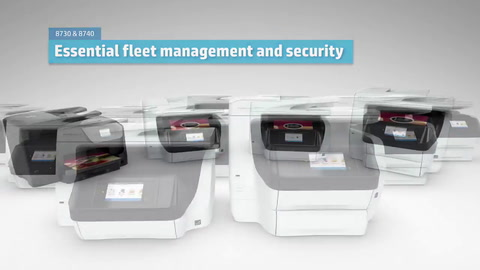 HP OJP 8700 EMEA 15 sec Team Confidence Animated CGI Demo Video