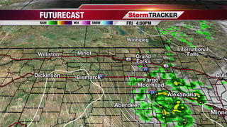 Isolated Showers/T-storms Today