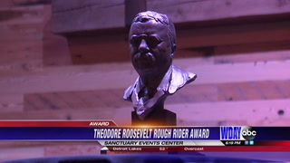 ND Governor awards 43rd recipient of Theodore Roosevelt Rough Rider Award
