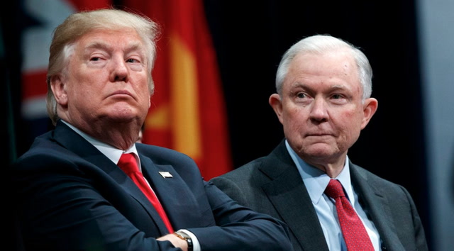 Attorney General Jeff Sessions resigns at Trump's request