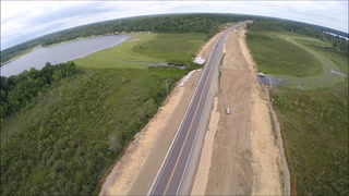 Aerial View: Highway 371 Four Lane Expansion